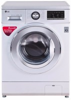 LG 8 kg Fully Automatic Front Load Washing Machine Silver(FH4G6TDNL42)
