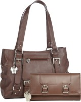 Butterflies Hand-held Bag(Tan)