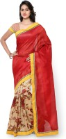 Divastri Self Design Fashion Polyester, Art Silk Saree(Multicolor)