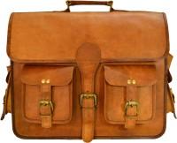 View ALBORZ 15.6 inch Laptop Messenger Bag(Brown) Laptop Accessories Price Online(ALBORZ)