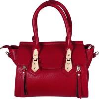 AZEEZ Women Maroon PU Hand-held Bag