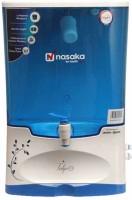View Nasaka Tulip N1 8 L RO + UF Water Purifier(White) Home Appliances Price Online(Nasaka)