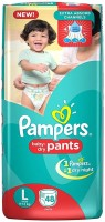 Pampers New Large Size Diapers Pants (48 Count) - L(48 Pieces)
