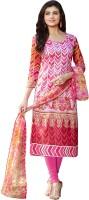 Divastri Cotton Printed Salwar Suit Dupatta Material(Un-stitched)