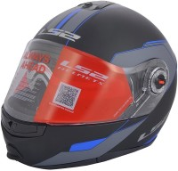 LS2 Midnight Motorsports Helmet(Blue)
