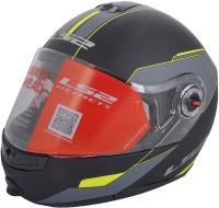 LS2 Midnight Motorsports Helmet(Yellow)