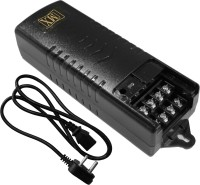 View MX CCTV Camera Power supply With Cord Input 220 Volts AC to Output 12 Volts DC - 1.5 Amperes Worldwide Adaptor(Black) Laptop Accessories Price Online(MX)