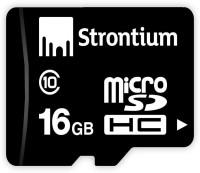 Strontium GB 16 GB MicroSDHC Class 10 24 MB/s  Memory Card