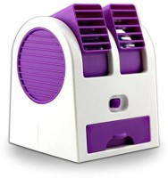 View Bhavya USB Portable Coller HB-168 USB Fan(Violet, White) Laptop Accessories Price Online(Bhavya)