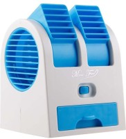 View Blue Diamond Mini Air Conditioner Cooling Fan USB-FAN-001 USB Fan(Purple) Laptop Accessories Price Online(Blue Diamond)