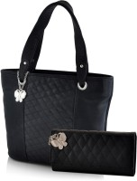 Butterflies Hand-held Bag(Black)