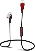 DEZFUL M1 HIGH BASS Wireless bluetooth Headphone(Red, In the Ear)