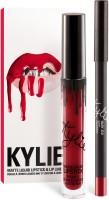Kylie Jenner Lip kit - Mary Jo K true blue red(Set of 2)