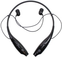 sampi HBS-730 Headset with Mic(Black, In the Ear)