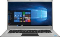 Lava Helium 14 Atom Quad Core - (2 GB/32 GB EMMC Storage/Windows 10 Home) C141 Thin and Light Laptop(14.1 inch, Silver, 1.45 kg)