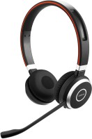 Jabra Evolve�� 65 MS Stereo Headset with Mic(Black, Over the Ear)