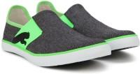 Puma Lazy Slip On II DP Sneakers For Men(Black, Green)