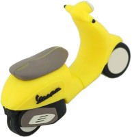 View Green Tree Vespa Scooter Motorcycle 32 GB Pen Drive(Yellow) Laptop Accessories Price Online(Green Tree)