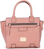 Van Heusen Women Casual Pink Genuine Leather Hand-held Bag