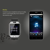 448e1680f Bingo T30 Sim   Bluetooth Fitness Tracker Silver Smartwatch Price in ...