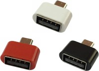 View YTM Micro USB OTG Adapter(Pack of 3) Laptop Accessories Price Online(YTM)