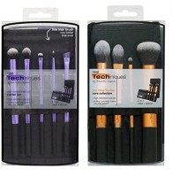 Real Techniques Makeup Brush 2 Sets - Starter Set, Core Collection *authentic*(Pack of 9) - Price 1649 85 % Off