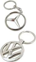 Alexus Mercedes & Volkswagon Key Chain(Silver)