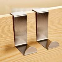 View JVS SS kitchen cabinet Hooks Steel Wall Shelf(Number of Shelves - 3, Silver) Furniture (JVS)