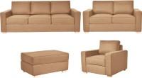 View FabHomeDecor Apollo Fabric 3 + 2 + 1 Camel Sofa Set Furniture (FabHomeDecor)