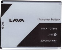 Lava  Battery - Iris X1 Grand Battery for Iris X1 Grand Mobile(Black)