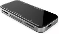 Macngrid SIYOTEAM All-in-1 USB 2.0 TF SD MS M2 miniSD CF Micro SD Multi in 1 card reader Card Reader(Silver, Black)