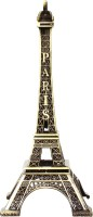 Art N Hub Antique Monuments Eiffel tower - Handicraft Decorative Home & Temple Décor God Figurine / Statue Gift item Decorative Showpiece  -  18 cm(Brass, Brown)