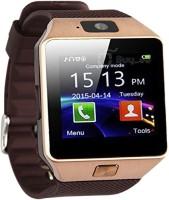 ROOQ dz09-g68 Smartwatch(Brown Strap Regular)