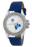 Abrexo Abx-5009BLU Crystal Studded Watch - For Girls
