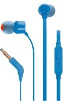 View JBL T110 Headphone(Blue, In the Ear) Laptop Accessories Price Online(JBL)