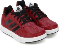 Adidas Boys & Girls Lace Sneakers(Red)