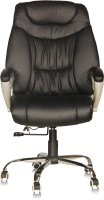 View Silver Arrow Executive Chair Leatherette Office Executive Chair(Black) Furniture (Silver Arrow)