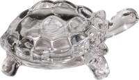 Art N Hub Tortoise/Turtle Vastu Figurine Fengshui Home Décor Gift Statue Showpiece  -  4 cm(Crystal, White)
