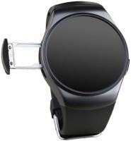 SI Full Circular Screen Heart Rate - Black Smartwatch(Black Strap 1.3)