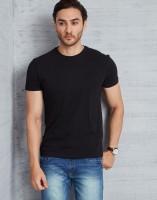 Metronaut Solid Men's Round Neck Black T-Shirt