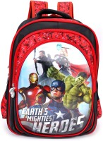 Marvel School Bag School Bag(Multicolour, 23 L)