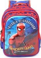 Marvel School Bag School Bag(Blue, 23 L)
