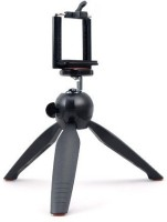 ReTrack RT-228 PHONE SINGLE PORTABLE TELEPHONE CAMERA CLIP STAND AND MINI Tripod(Black, Supports Up to 700 g)