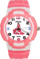 Vizion 8565AQ-3-3 Barbie-The Little Angel Analog Watch For Girls