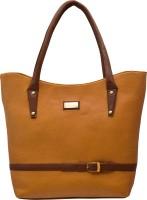 tap fashion Hand-held Bag(Tan)