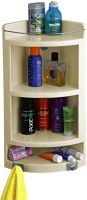 View Bedi Royal Plastic Wall Shelf(Number of Shelves - 3, White) Furniture (Bedi Royal)