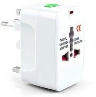 View Home Delight ER Worldwide Adaptor(White) Laptop Accessories Price Online(Home Delight)