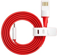 View AVMART One Plus Type-C Cable 02020104 USB Cable Cable01 USB Cable(Red) Laptop Accessories Price Online(AVMART)