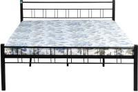 View Delite Kom Sonata Metal Queen Bed(Finish Color -  Black) Furniture (Delite Kom)