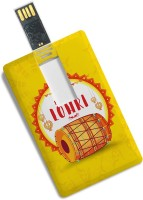 View 100yellow Credit Card Type 16GB Happy Lohri Printed Fancy Pen Drive - For Gift 16 GB Pen Drive(Multicolor) Laptop Accessories Price Online(100yellow)